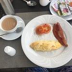 Desayuno con omellet