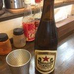 Sapporo beer, very delicious