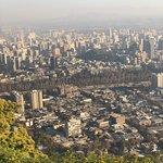 Funicular Santiago ภาพถ่าย