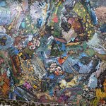 Puzzle piece collage