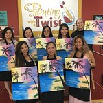 Paint & Sip with us!
