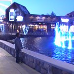 My son at The Island in Pigeon Forge.