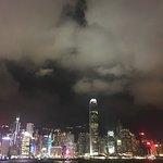 香港天际线照片