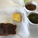 Meat loaf and collards