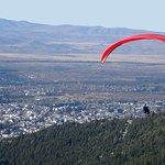 Vista hacia Bariloche
