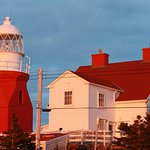 """Stunning """"working"""" lighthouse, located at the very end of the small community of Crow Head"""