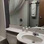 Decent shower and bathroom