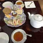 Tottering Teacup Tea service for two!