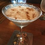 Cream brulee martini