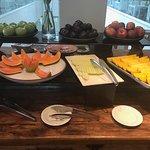 Fresh fruits breakfast