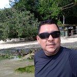 Praia do Araçá na Ilha de Jaguanu é uma das melhores ilhas na Costa Verde do RIO DE JANEIRO, loc