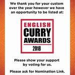 Vote Balti Hut for #EnglishCurryAwards