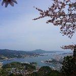 View of Kesennuma Port from Mt Amba