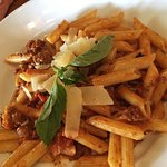 Penne Bolognese (ground beef, bacon, tomato cream sauce)