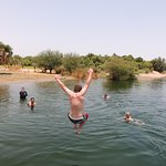 Cooling off in the Nile!