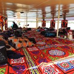 Home sweet home for two days aboard the felucca boat