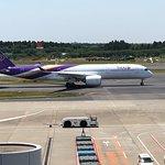 Observation Deck at Narita Airport Terminal 2照片