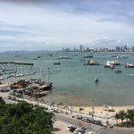 Views from the Pattaya City sign 3 June 2018