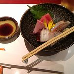Sashimi is a must have in Japan
