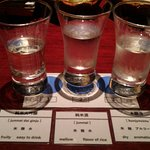 Trying to guess which sake is which