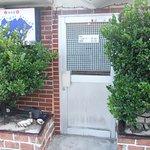居酒屋どぅーらい 道路脇の入口