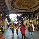 Shanghai old town shopping mall