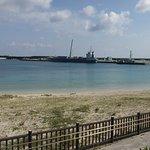 ナンタ浜と祖納港
