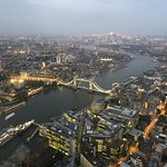 HMS Belfast, City Hall, Tower Bridge, Canary Wharf... and that's just looking east