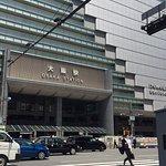 Right across from Osaka Station