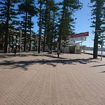 Manly Beach - beautiful wide promenade