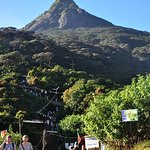Adam's Peak from the way back