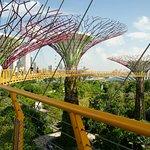 128-m long aerial walkway