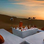 Personalized Dinner Set up in Dunes