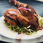 try our wonderful Mad Hatcher Half Chicken