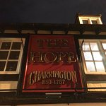 the hope sign from the street