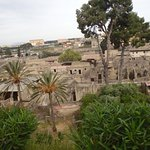 Herculaneum from the outside.