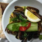 Black Sea Mussels in curry
