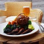 Roast Beef and Wicker Chair - photo by Bernado Fernandes