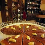 Come to us and make your life smile :) caramel cake and wine are good for you!