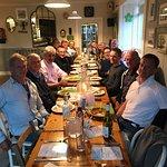 Peter Hart windsurfing Masterclass's celebratory dinner at Moe's