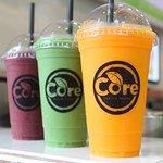 Core Favourites: Berry Burst, Super Green & Multi Orange