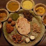 Full Rajasthani Thali