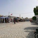 Rue ouverte du souk