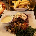 Surf and Turf with chips