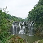 Shifen Waterfall照片