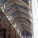 Bóveda desde el coro