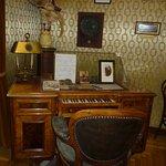 Liszt's desk with keyboard