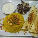 CHICKEN SHAWARMA + ARABIC RICE