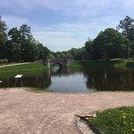 Дворцовый парк в Гатчине.
