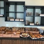 amazing breads and pastries at breakfast